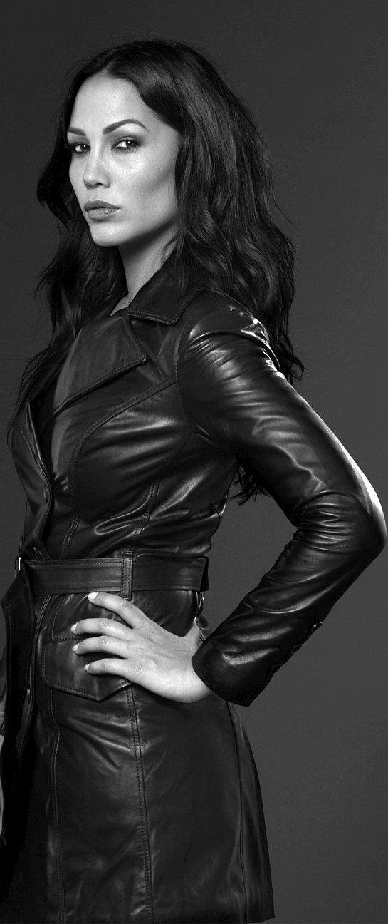 For the love of a woman in a leather coat
