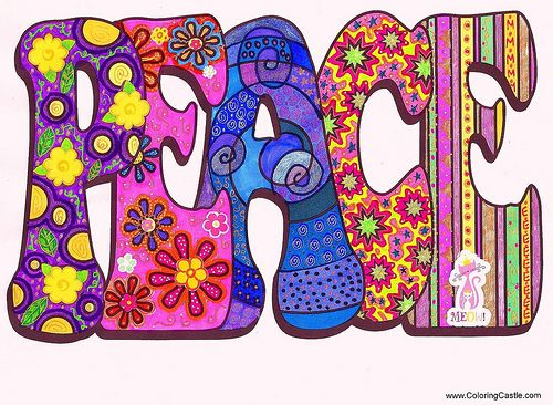 ☮ American Hippie Art Quotes ~ Peace