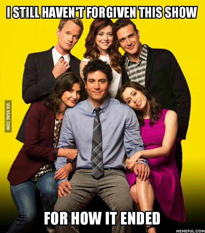 Eu ainda não perdoou esse show ... Porque ele terminou ?....