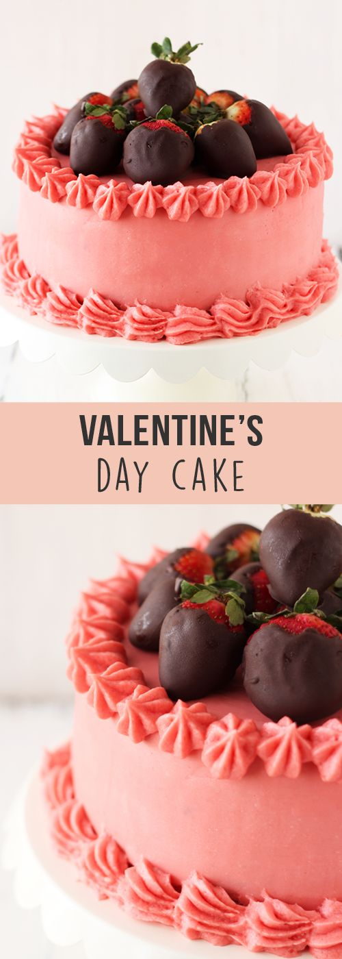 Valentine's Day Cake - Handle the Heat