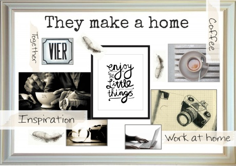 moodboard They make a home