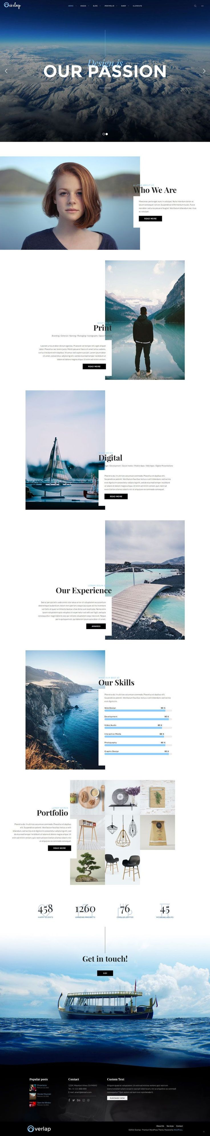 Website Design Ideas stdioh salon web design by utkarsh raut Creative But Newest Website Designs For Inspiration