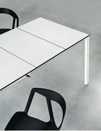 15 best images about eettafels on pinterest danish for Table extensible kristalia