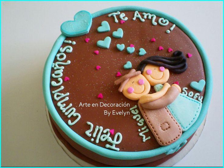 pasteles decorados para cumpleaños - Buscar con Google