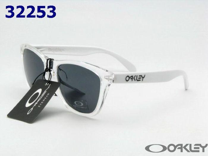 oakley frogskins clear sunglasses black iridium