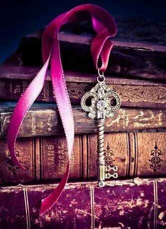 Old books and skeleton keys