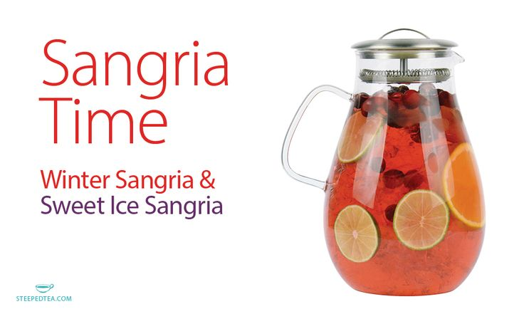 <p>Winter Sangria  Ingredients 1 bottle of red wine* 4 cups of Winter Sangria, Fruit Tea (made to your desired level of sweetness), cooled 1 cup fresh strawberries, quartered 1 fresh orange, sliced 2 fresh lemons, sliced Instructions Combine all ingredients and mix well. Refrigerate for at least 4 hours, …</p>