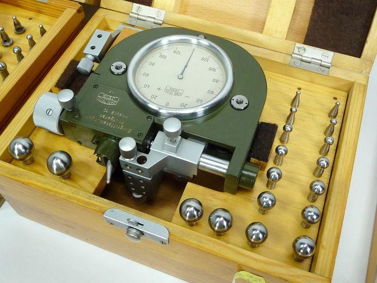 Carl Zeiss Gear Pitch Checker Modul m2-10 /0,002mm Tooth Eingriffsteilungs Zahn #CarlZeiss
