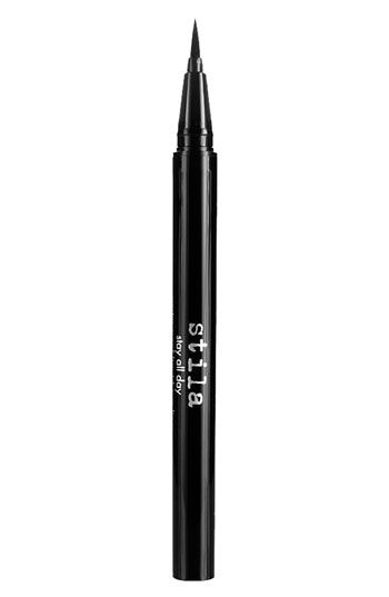 stila 'stay all day' waterproof liquid eyeliner :: testing this out this week, so far so good, not my favorite, but it'll do.