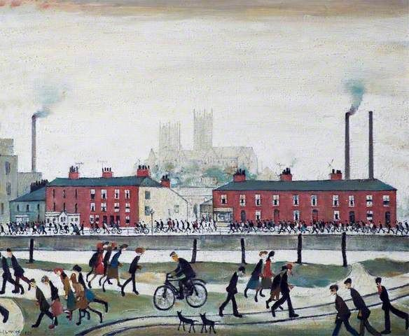 Laurence Stephen Lowry - Lincoln