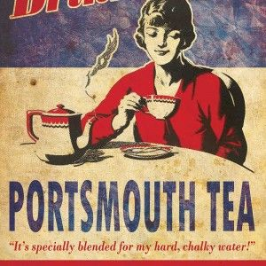 Portsmouth Tea Poster