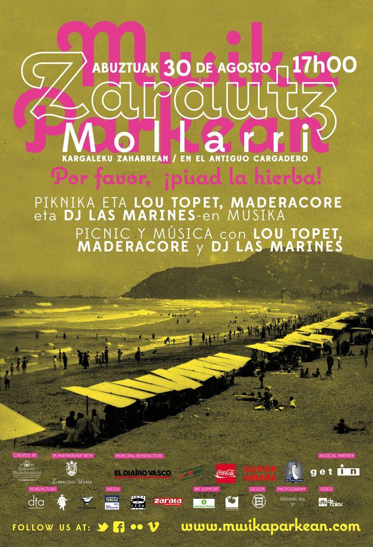 Musika Parkean, edizioa berezia - 30.08.2013, Mollarri, Zarautz