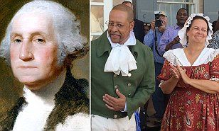 George Washington's estate finally acknowledges his biracial family tree | Daily Mail Online