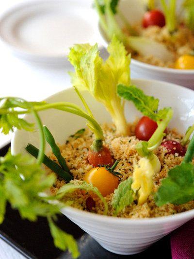 【ELLE a table】アンチョビディップの野菜スティックレシピ|エル・オンライン