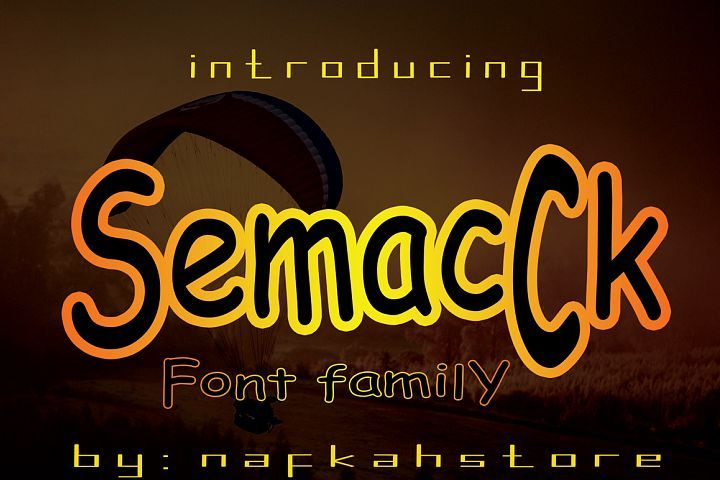 semacCk from FontBundles.net