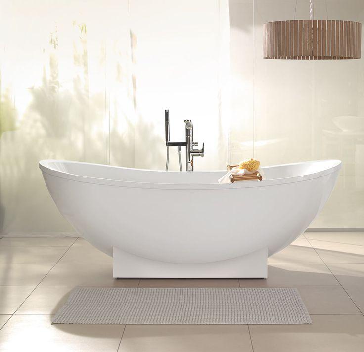 villeroy boch my nature freestanding acrylic bath. Black Bedroom Furniture Sets. Home Design Ideas