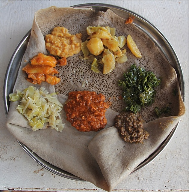 Injera traditional ethiopian food african cuisine and for Angie s african cuisine