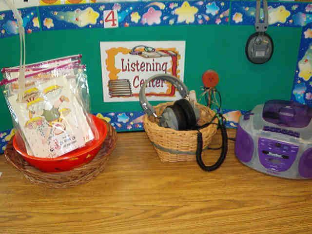 Classroom Center Ideas : Images about preschool listening reading center on