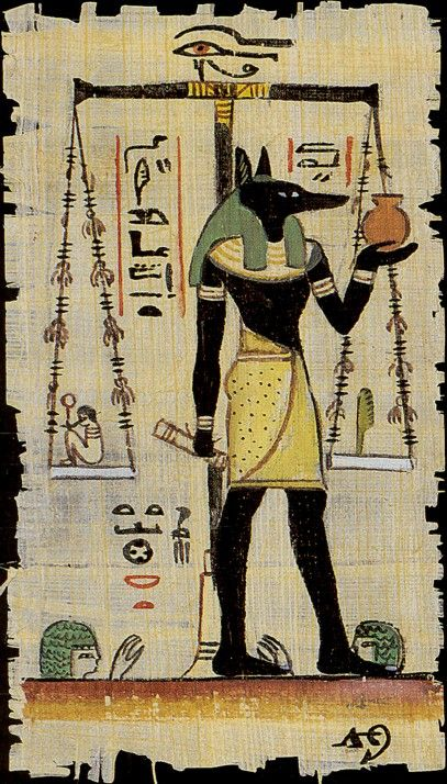 Egyptian Tarot Kit Deck Book Loscar: Death (The Egyptian Tarot)