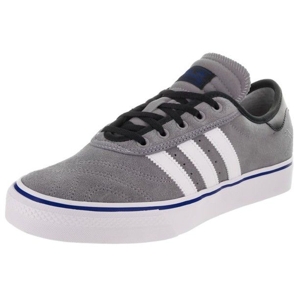 Adidas Men's Adi-Ease Premiere Skate Shoe ($81) ❤ liked on Polyvore featuring men's fashion, men's shoes, men's sneakers, shoes, mens canvas shoes, mens shoes, men's low top sneakers, mens low profile shoes and mens sneakers