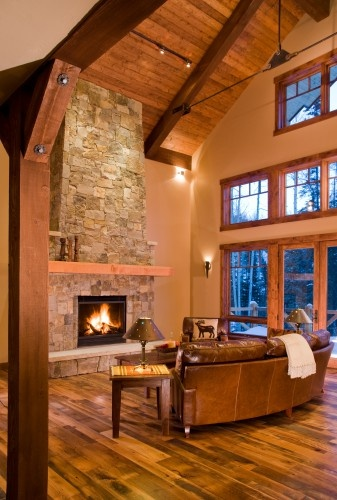 Cozy Living Room Living Rooms Fireplaces Pinterest