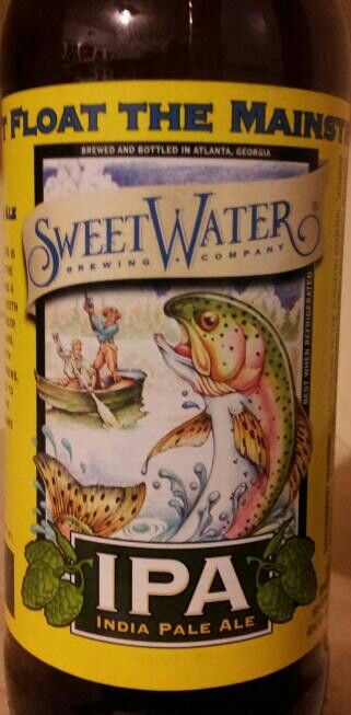 SweetWater - IPA ~ Don't float the mainstream #sweetwaterbeer #atlantabeer #ipa