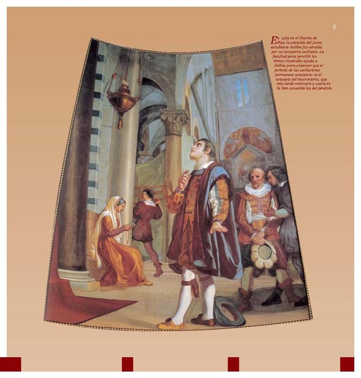 Galileo en su juventud