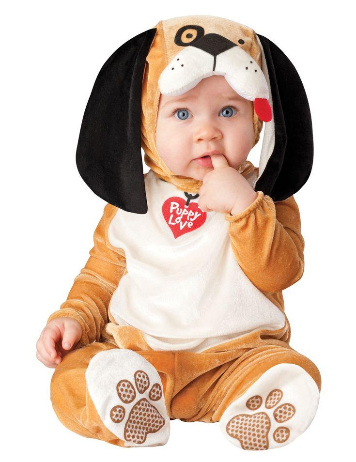 Dit premium puppy kostuum voor baby's zal ideaal geschikt zijn als carnavalskleding om een schattige kleine hond te worden! - Nu verkrijgbaar op Vegaoo.nl