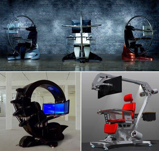 Gamers' Desks or Torture Device? You Decide