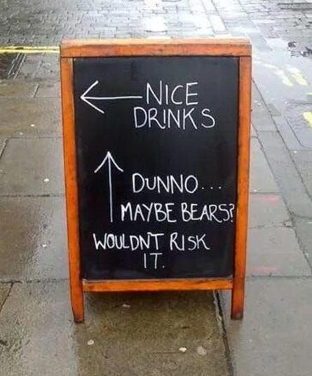 The funniest pub chalk boards to entice thirsty drinkers - Telegraph