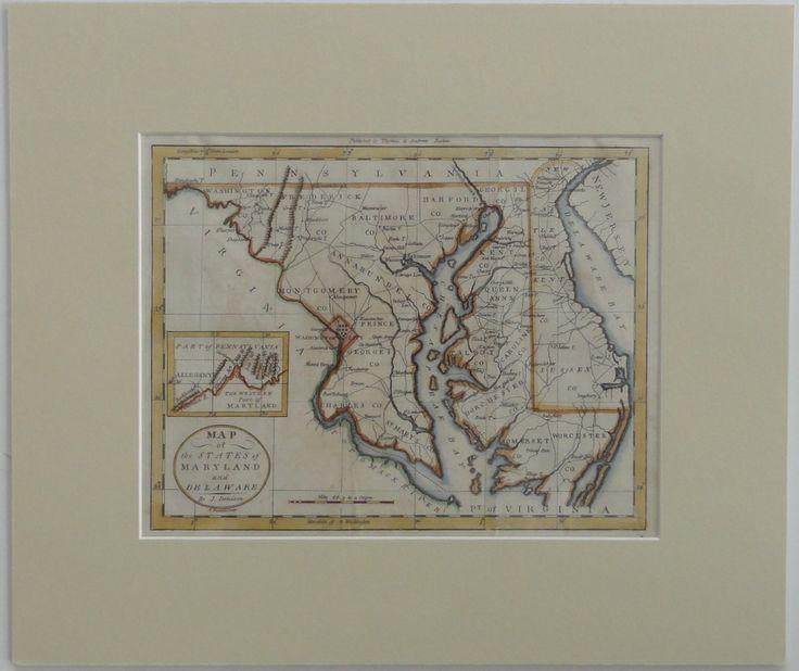 194 best Antique Maps images on Pinterest Antique maps Maryland