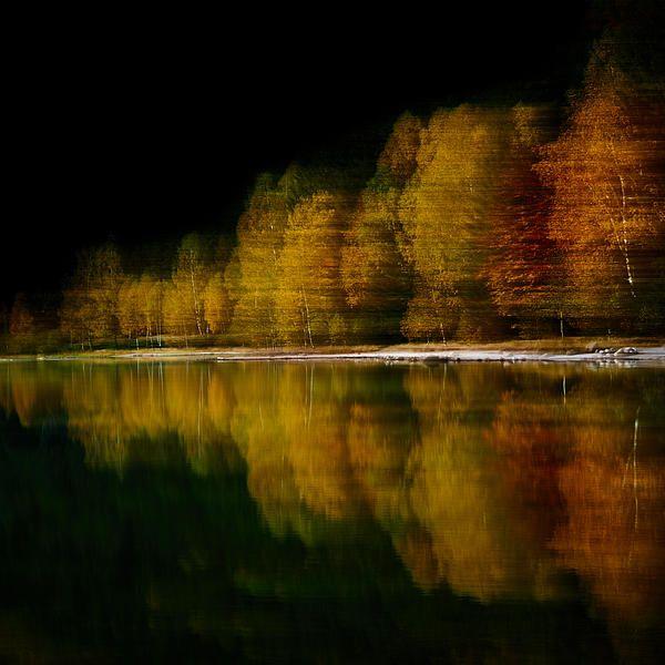 Autumn Mirror - by Attila Simon