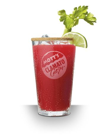 The best cocktail in the world - made in Canada: 1 oz. (or more) vodka, juice of 1/2 lime, dashes of tobasco and worstchestershire sauces, salt and pepper, Mott's Clamato Juice. Rim the glass with celery salt and garnish with lime and a celery stalk. Enjoy.