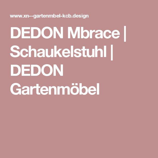 DEDON Mbrace | Schaukelstuhl | DEDON Gartenmöbel