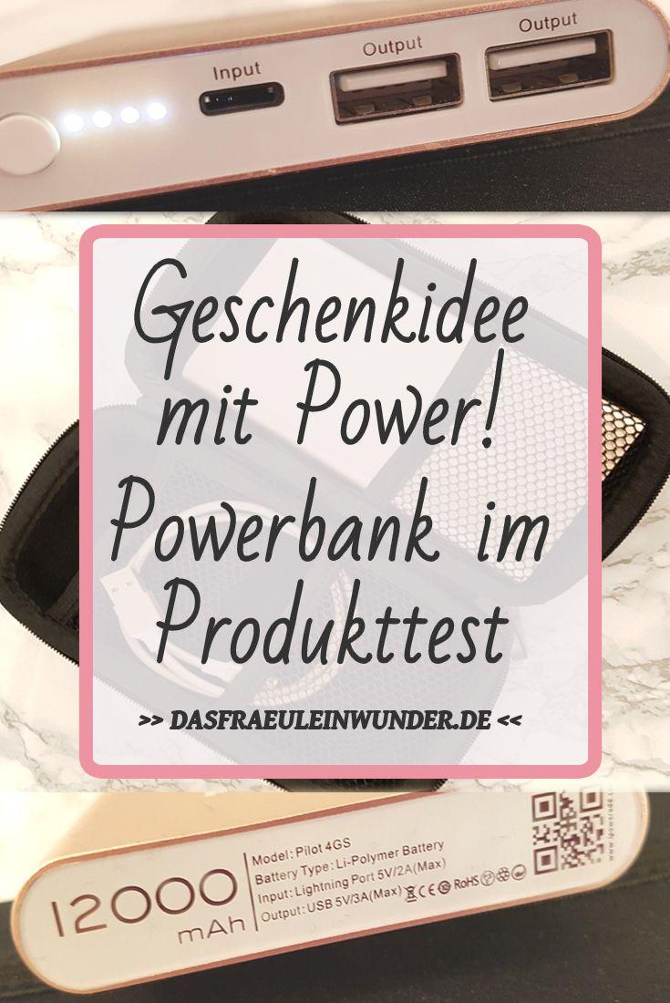 Coole Geschenk Idee: Handy Powerbank im Produkttest || Dein Handy Akku ist immer leer?! Mit diesem coolen Gadget hast du ein Problem weniger!