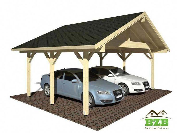 Easy to build Solid Wood Carports roofingideas Carport