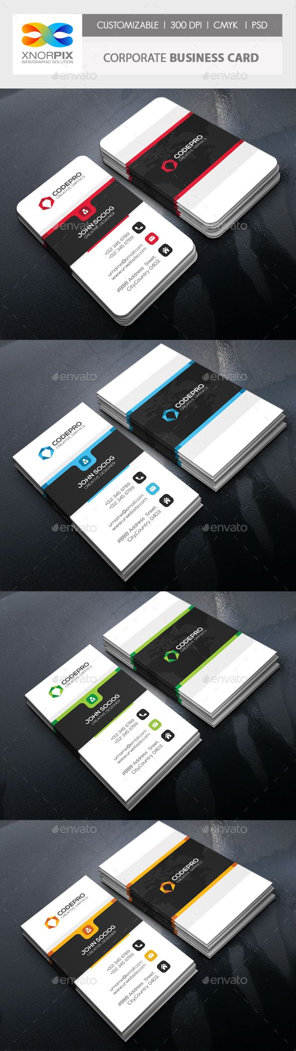 8 Best Business Cards For Technology Companies Startups Networking