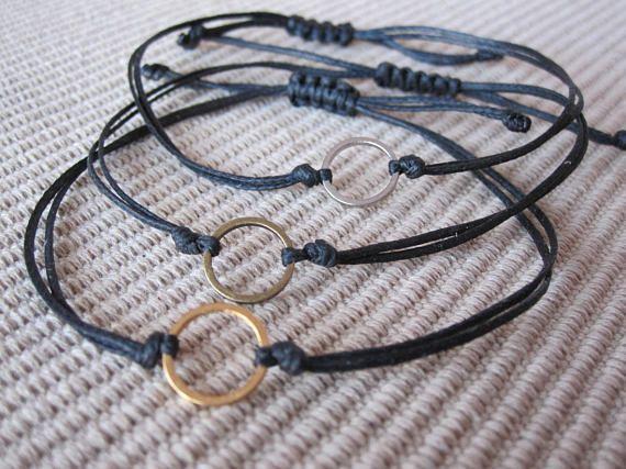 karma braceletinfinity braceletyoga braceletminimal