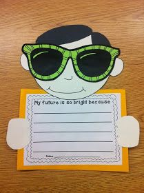 Our Future Is So Bright- Writing Craftivity |