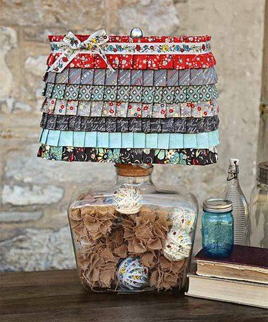 Another great find on #zulily! Ruffles & Pleats Lampshade Kit #zulilyfinds
