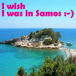 I wish I was in Samos :-) is a FACEBOOK Page created for Samos island