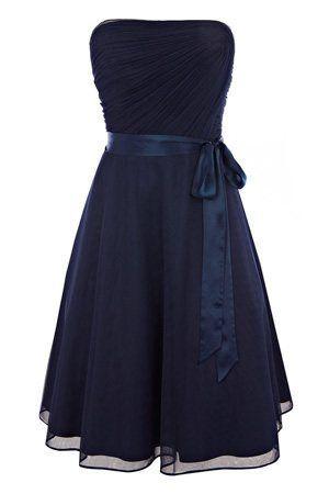 Navy Blue Wedding Bridesmaid Dresses   What colour shoes with navy blue dress? - wedding planning discussion ...