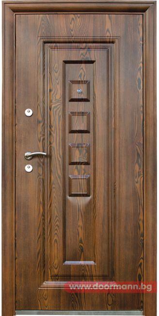 Блиндирана входна врата - Код 802-7