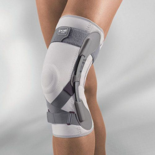 Push Med Knee Brace - Substantial support for the knee & follows the knee's natural rotation movements.