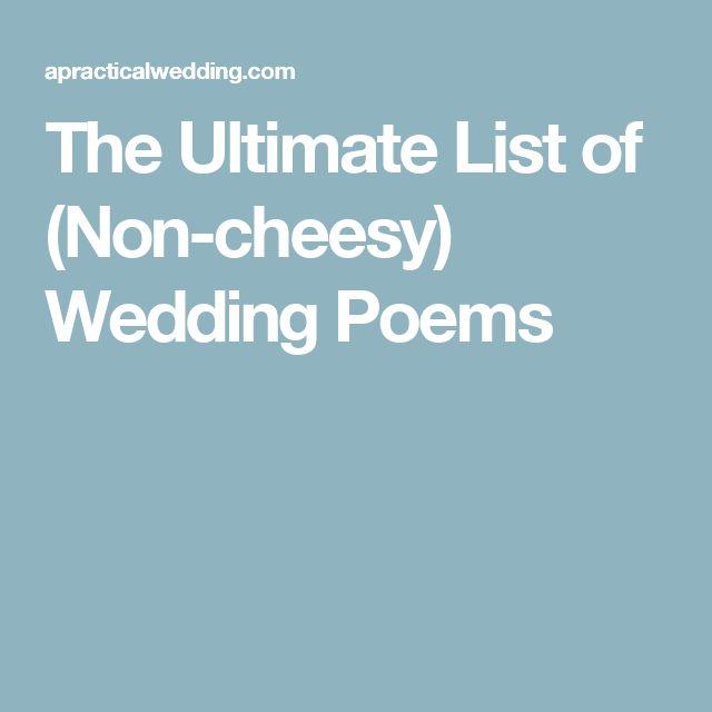 Best 25+ Love Poems For Weddings Ideas On Pinterest