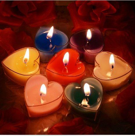 świece, kolor świeca, lampa urodziny wiązka miłość romantyczny rose serce świeca prezent-inCandles od Dom na Aliexpress.com | Alibaba Group