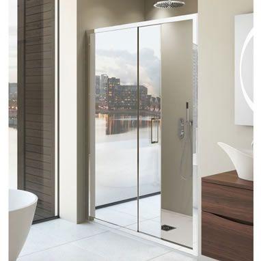 Simpsons 1400 Mirror Shower Door