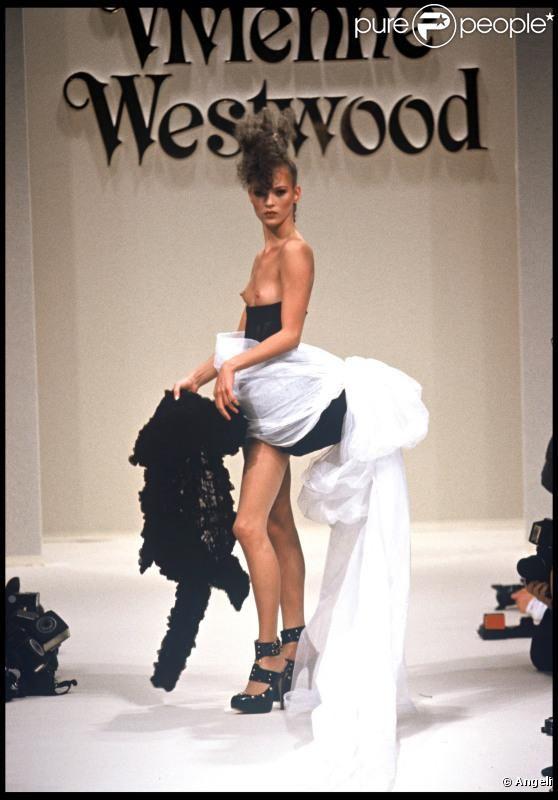 1994-95 - Vivienne Westwood show - Kate Moss Runway/Backstage/Catwalk