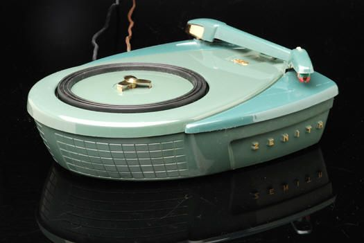 Zenith Atomic record player. One of the coolest retro items I have ever seen!