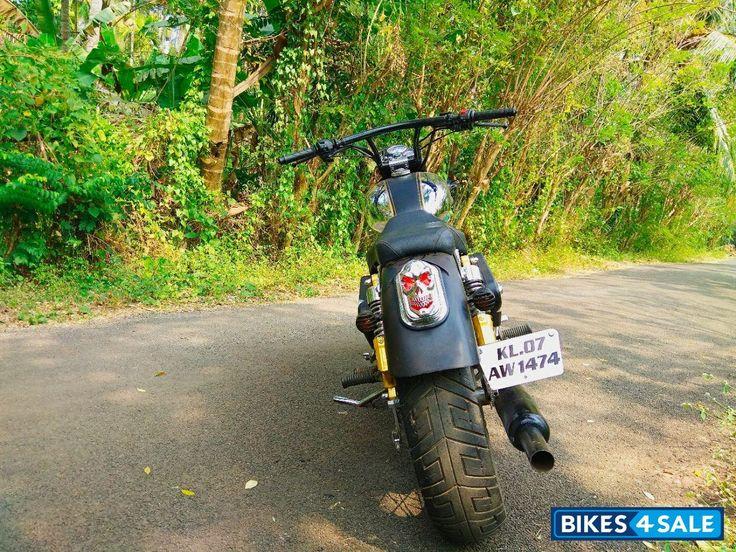 Custom Modified Royal Enfield Bullet Motorcycle